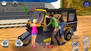 Offroad Tourist Tuk Tuk Auto Rickshaw Driving Games || Auto Rickshaw Gameplay 02 🛺 || Crazy Gameplay screenshot 1