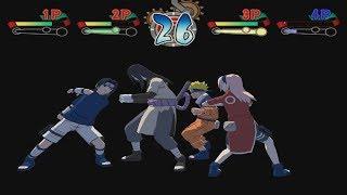Naruto Clash Of Ninja 2 Walkthrough Part 5 Team 7 Naruto Sasuke vs Orochimaru 1080p 60 FPS