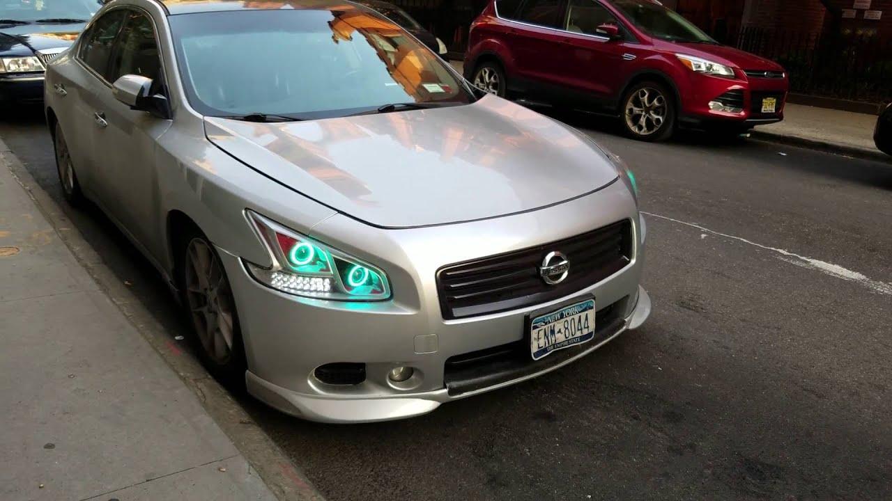 Custom Nissan Maxima >> Nissan Maxima Custom Headlight Setup 4k