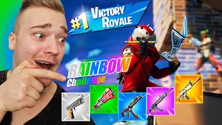 FORTNITE RAINBOW CHALLENGE ((EPIC VOITTO)) W /Roponen