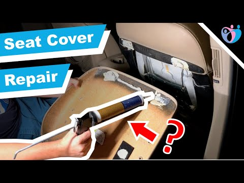 How to repair a broken front seat back cover on 2007 Audi Q7, a quick fix guide VW