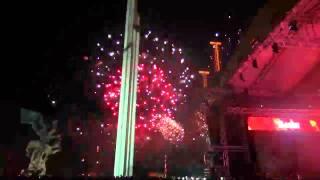 9 МАЯ 2015 года в Риге: ДДТ и праздничный салют. MIX TV