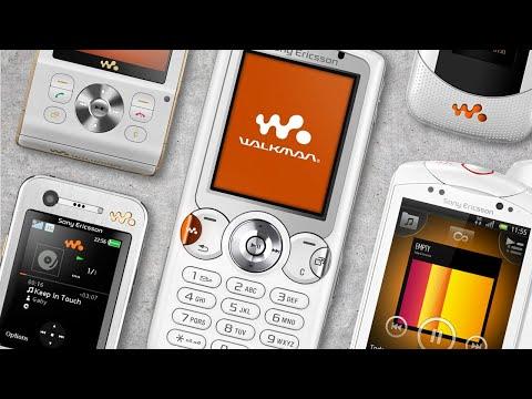 Evolution Of Sony Ericsson Walkman Phones (2005 - 2011)