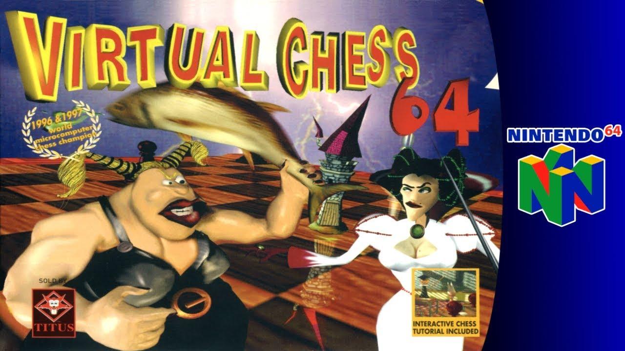 """Résultat de recherche d'images pour """"Virtual Chess 64"""""""