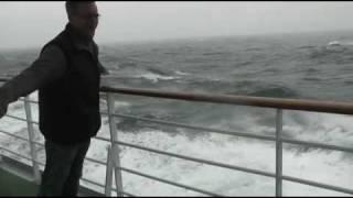 AIDA luna: Klasse Seegang auf dem Atlantik