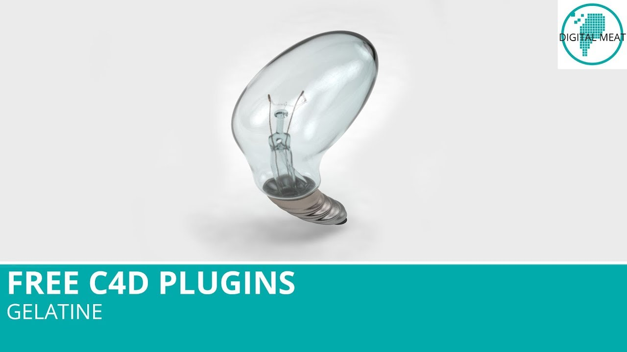 Free C4D Plugins: Gelatine