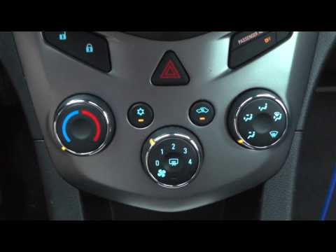 2013 Chevy Sonic AC Controls Explained