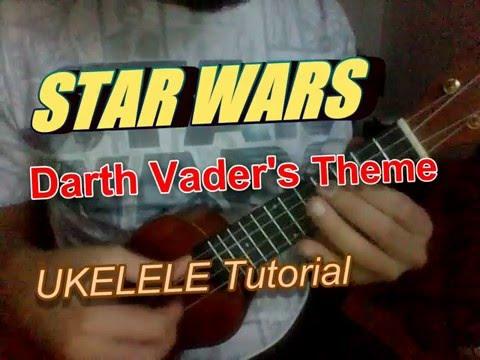 Darth Vader's STAR WARS Theme Song - Ukulele TABS & TUTORIAL