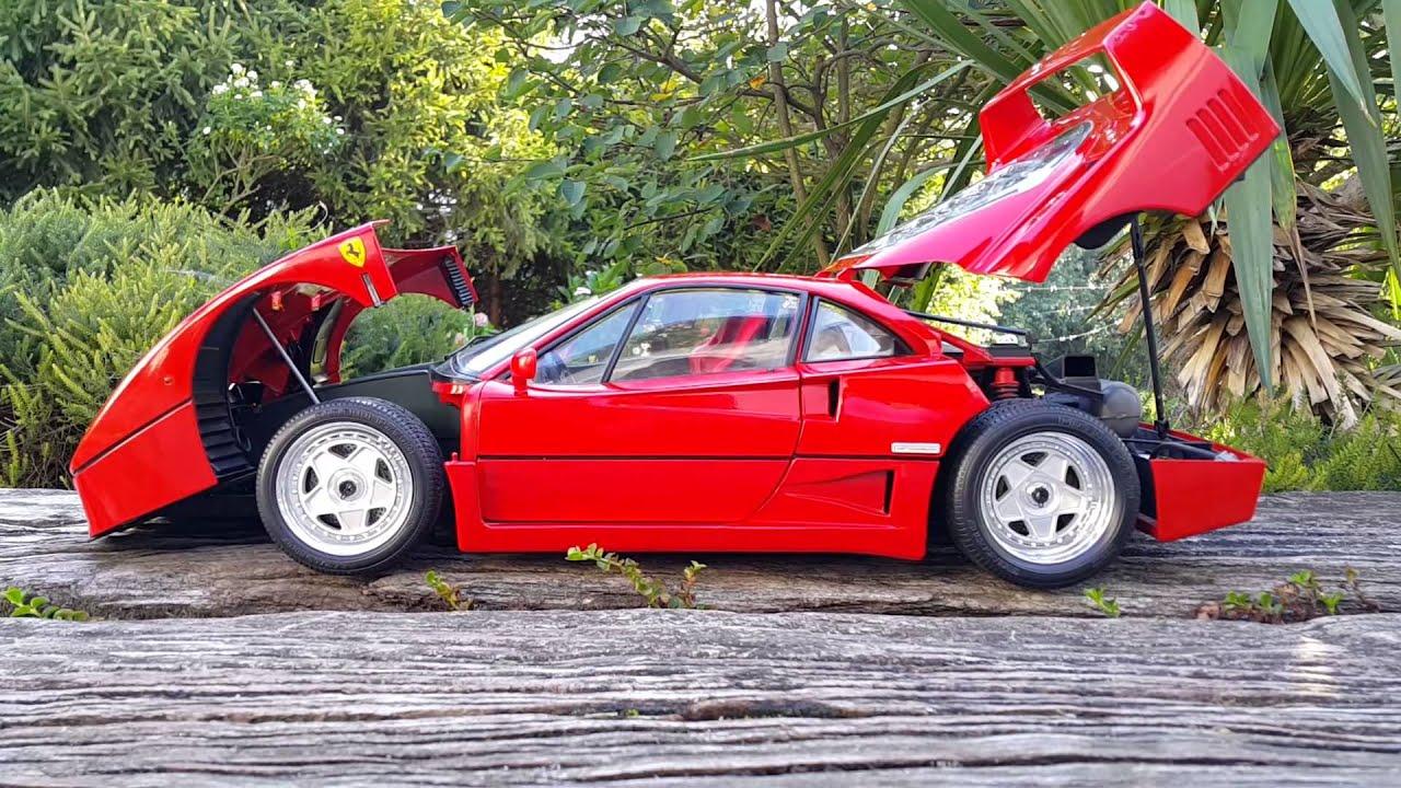 Ferrari F40 Pocher 1 8 Youtube