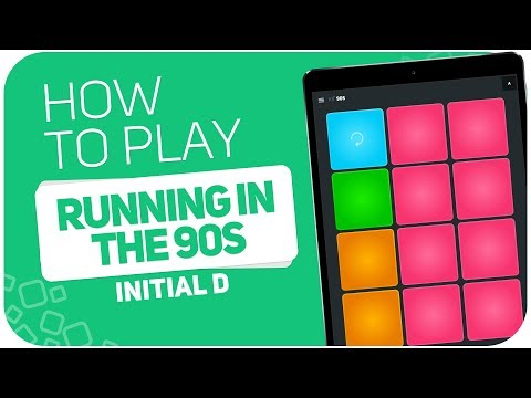 How to play: RUNNING IN THE 90S (Initial D) - SUPER PADS - Kit 90s