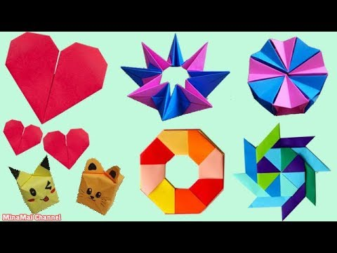 Easy Paper Crafts and Origami Ideas ♥ 쉬운 종이 공예