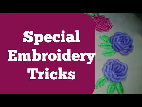 Special embroidery design | embroidery tutorial | Embroidery by hand thumbnail
