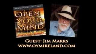 Open Your Mind Interent Radio (OYM) Jim Marrs Interview - 26th August 2012
