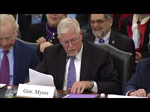K-State President Richard Myers Testifies Before Senate Ag Committee on Ag Security