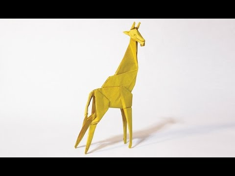 How to make an origami Giraffe - YouTube - photo#9