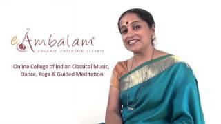 Bharatanatyam Online Course Introduction