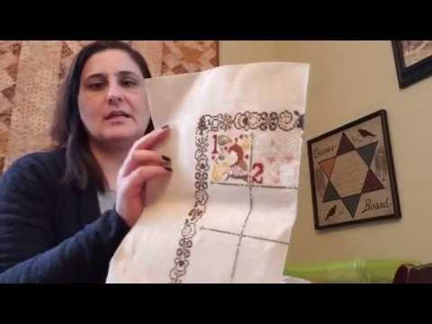 Flosstube #1 - Whistlestop Stitcher - Introduction!