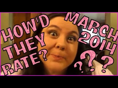 How'd They Rate? - SEVEN March 2014 Beauty Boxes!!