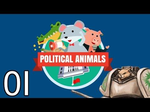 Political Animals PC Gameplay (Sponsored) - Part 1
