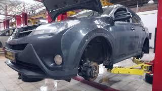 Toyota RAV4 плановое ТО 100 тысяч км. Орбита Тойота