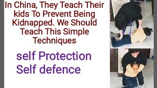 In China, They Teach Their kids To Prevent Being Kidnapped. We Should Teach This Simple Techniques