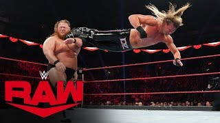 Dolph Ziggler & Robert Roode vs. Heavy Machinery – Raw Tag Team Title Match: Raw, Sept. 30, 2019
