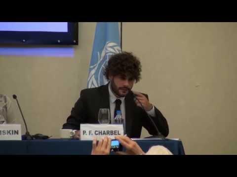 UN Meeting of Civil Society in Support of Israeli-Palestinian Peace - Mr. Pedro Ferraracio Charbel