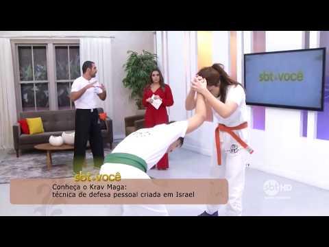 Krav Maga no SBT - Santa Catarina - Técnica de Defesa Pessoal