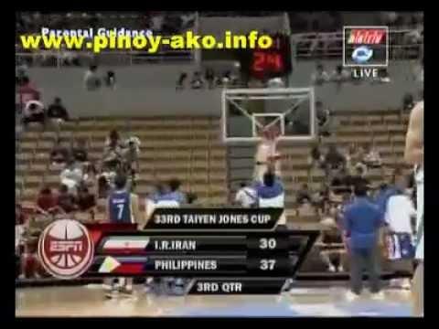 Smart Gilas Pilipinas vs Iran Jones Cup 2011 Part 3