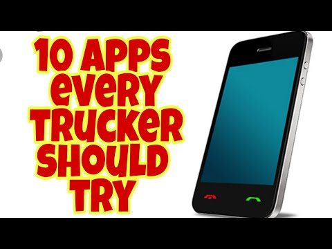 Apps For Truckers. Tech That Makes OTR Easier