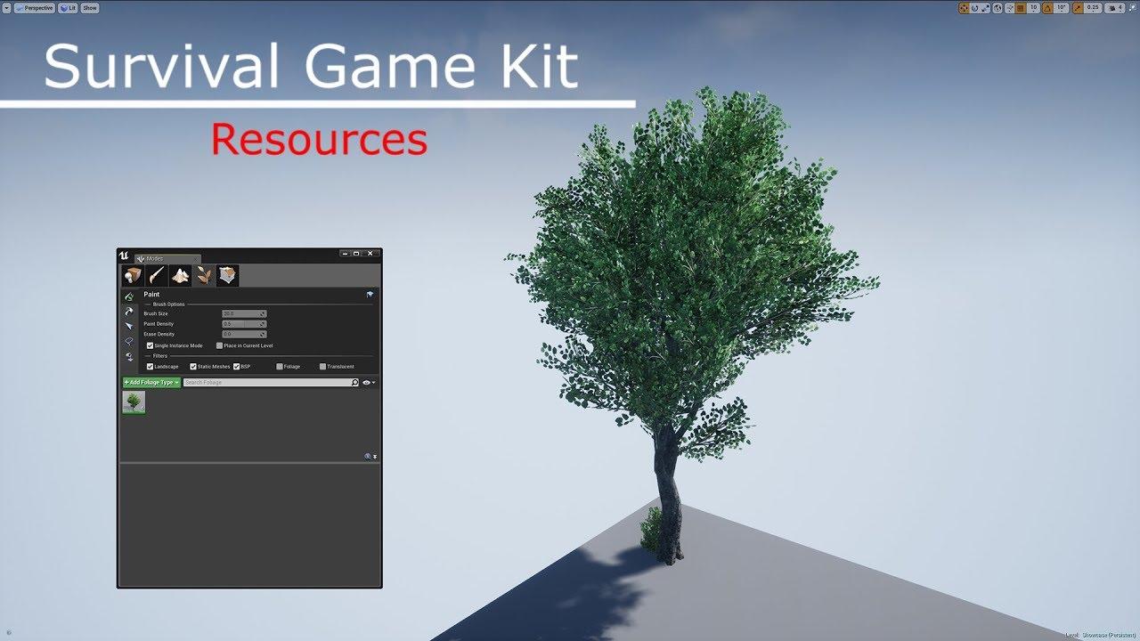 Survival Game Kit (Resources)