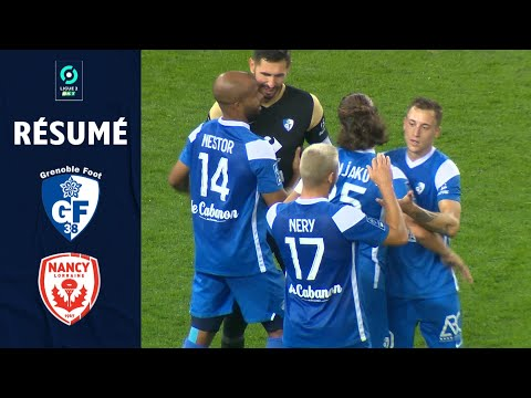 Grenoble Nancy Goals And Highlights