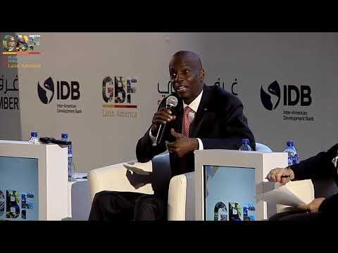 HE Jovenel Moise - President of Haiti at #GBFLATAM2019