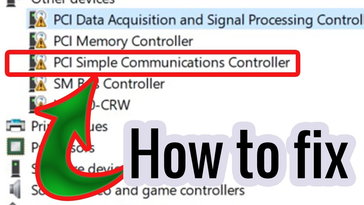 pci simple controller driver for windows 7 32 bit free download