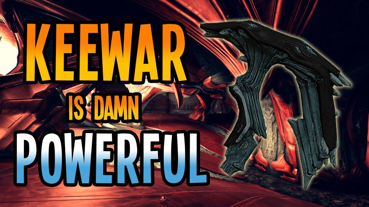 WARFRAME Plague KEEWAR Is Damn POWERFUL! - YouTube