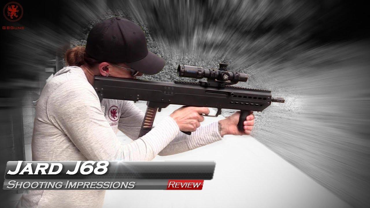 JARD J68 Bullpup Carbine in 9mm : Redefining Pistol Caliber Carbines
