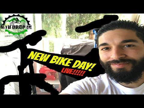 New Bike Day Reveal | 2018 Santa Cruz Bronson? 2017 Evil Calling ? 2017 Intense Recluse Elite?