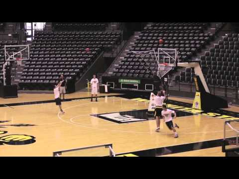 Gregg Marshall shows a GREAT spacing drill