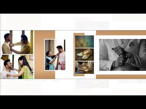 Download How to design 12x36 wedding album design template in Adobe Photoshop Tutorial