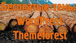 Бесплатные темы WordPress от Themeforest