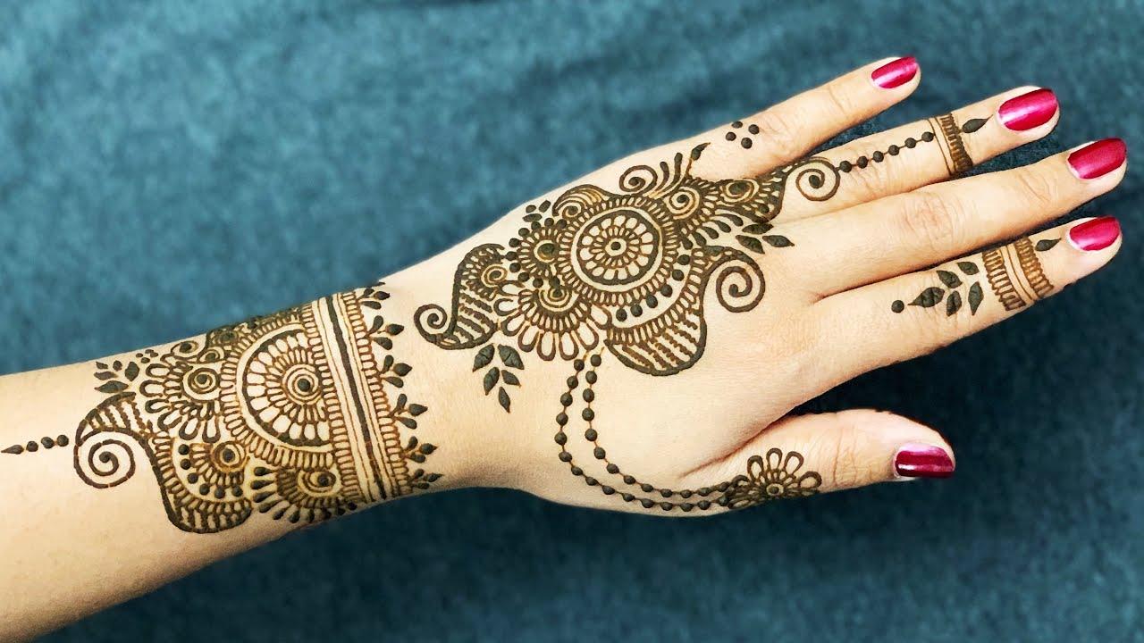 Best Mehndi Design For Raksha Bandhan