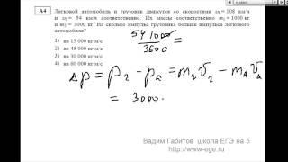 Демовариант ЕГЭ по физике 2014 А4