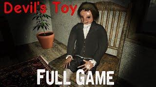Devil's Toy Full game & Ending Playthrough Gameplay (Horror Game)
