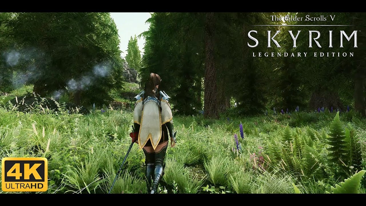 Skyrim Le Ultra Modded 4k Best Graphics W Modlist