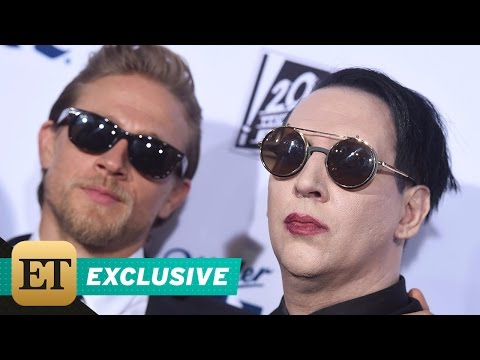 EXCUSIVE: Surprise! Charlie Hunnam and Marilyn Manson Are Basically BFFs