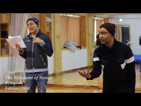 Indiegogo video for The Merchant of Venice, Seoul Shakespeare Company (2018)