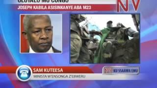 Abayeekera aba M23 batudde mu kafubo ne president Joseph Kabila. thumbnail
