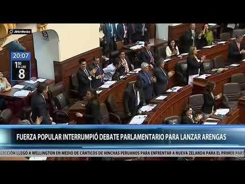 Congreso: Fuerza Popular reacciona luego del interrogatorio a Odebrecht (Canal N)