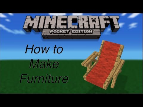 Minecraft Pe Furniture furniture for minecraft pocket edition - youtube