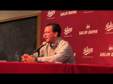 Tom Crean talks State of the Hoosiers